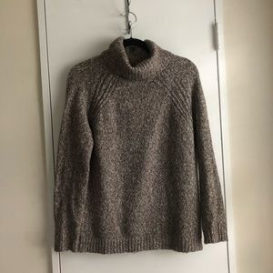 Marled Turtleneck Sweater